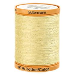 Gutermann Natural Cotton Thread 800m/875yds Butter Cream