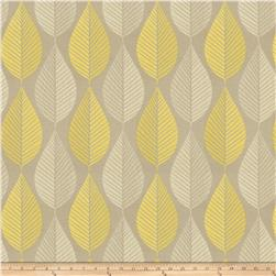 Fabricut Green Day Faux Silk Citrine