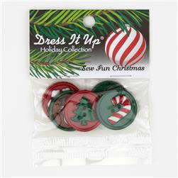 Dress It Up Embellisment Buttons  Sew Fun Christmas