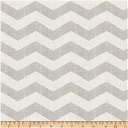 Jaclyn Smith Chevron Blend Dove Grey Fabric
