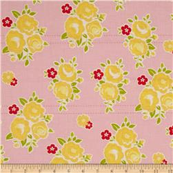 Riley Blake Sidewalks Floral Pink