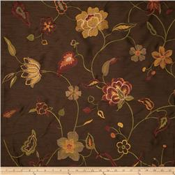 Trend 01855 Embroidered Pecan