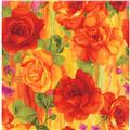Timeless Treasures Rosa Large Scale Roses Panel
