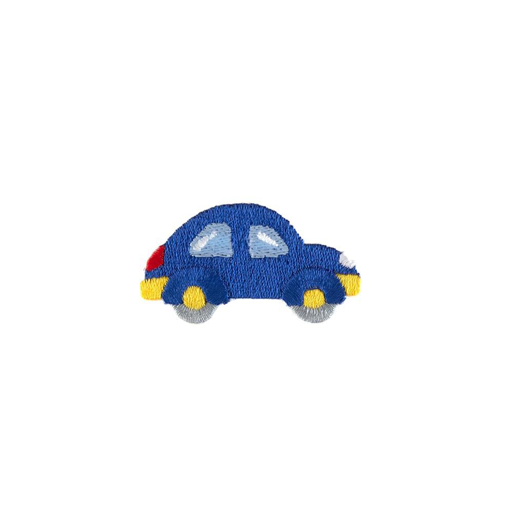 Car Applique Blue
