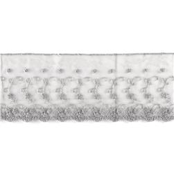 Riley Blake 4'' Decorative Lace Grey