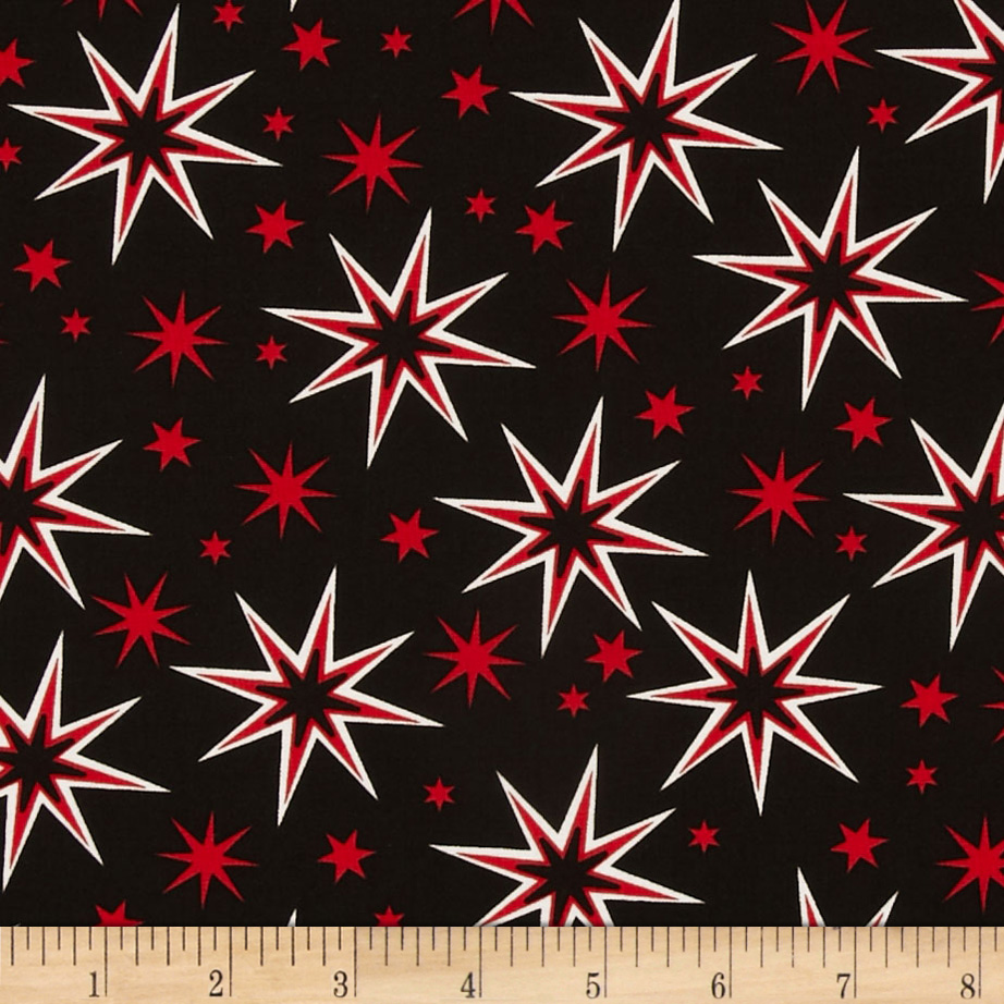 Kanvas It's A Strike Star Black/Red