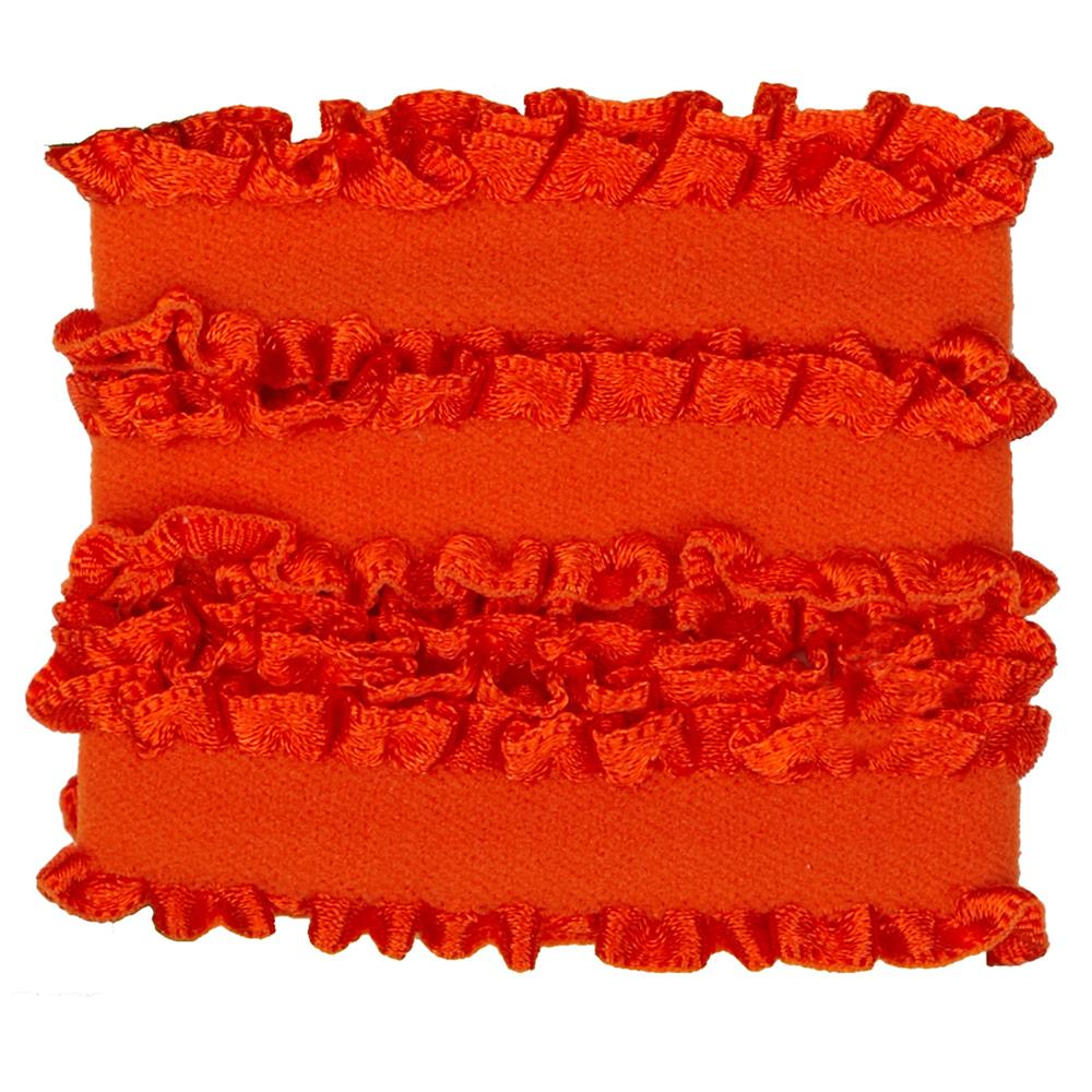 "Dritz Ruffle Elastic 5/8""X1 Yard - Orange"