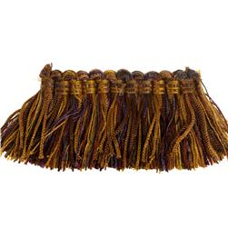 "Fabricut 2"" Luzianne Brush Fringe Autumn Berry"