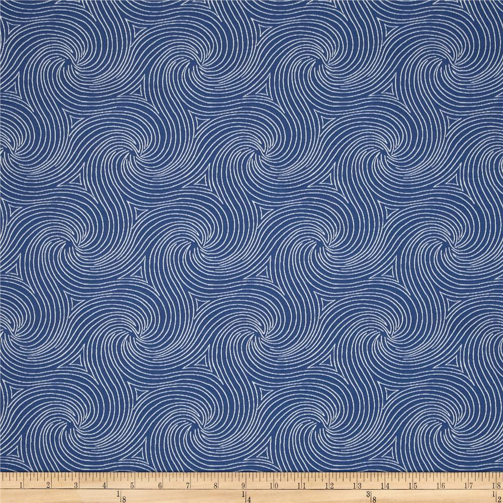 Swavelle mill creek indoor outdoor nabil nautical for Outdoor fabric