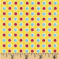 Penny Rose 30's Minis Dots Yellow