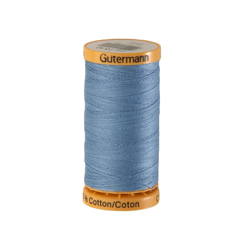Gutermann Natural Cotton Thread 250m/273yds Light Blue