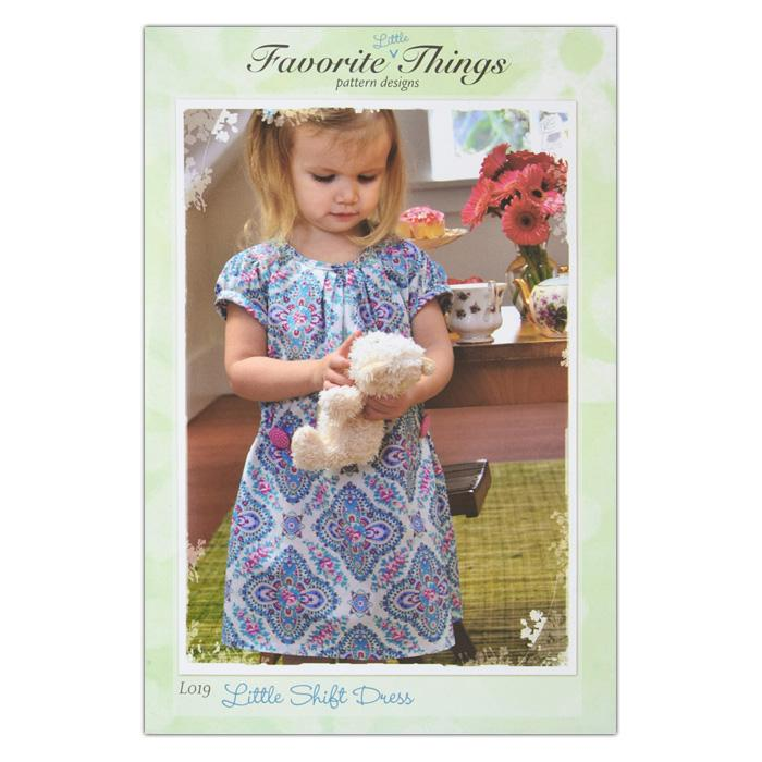 Favorite Little Things Little Shift Dress Pattern