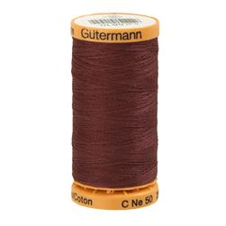 Gutermann Natural Cotton Thread 250m/273yds Light Plum