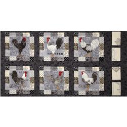 Moda El Gallo Panel Ebony