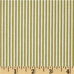 Magnolia Home Fashions Ticking Stripe Pasture Green
