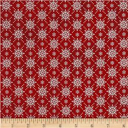 Christmas Wishes Snowfall Holiday Red