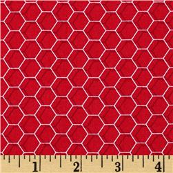 Rooster Royale Chicken Wire Red