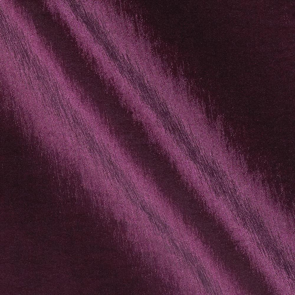 Soiree Stretch Taffeta Iridescent Aubergine