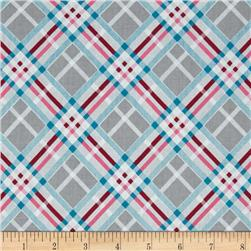 Vintage Modern Bias Plaid Pink