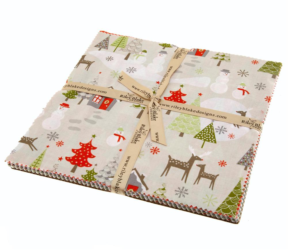 "Riley Blake A Merry Little Christmas 10"" Stackers"