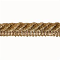 Expo 1/2'' Natasha Fiber Twisted Lip Cord Natural