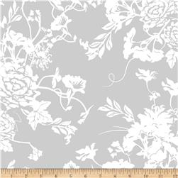 Riley Blake RoseCliff Manor Large Floral Grey