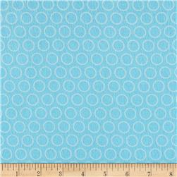 Riley Blake Just Dreamy 2 Flannel Circles Blue