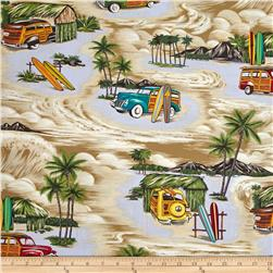 Hoffman Tropical Collection Retro Car Khaki