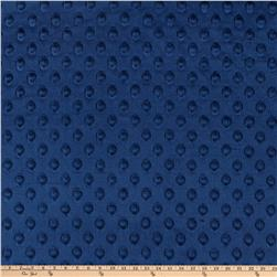 Shannon Minky Cuddle Dimple Navy