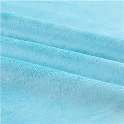 Shannon Minky Solid Cuddle 3 Turquoise