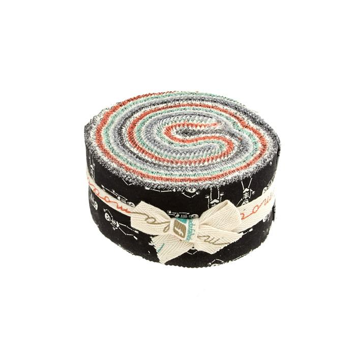 "Moda Haunted Gala 2.5"" Jelly Roll Multi"
