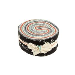 Moda Haunted Gala 2.5 In. Jelly Roll Multi