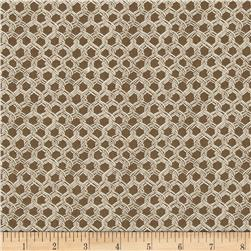 By the Sea Bay Landing Net Caramel Fabric