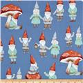 Christmas Time Gnome Sweet Gnome Blue
