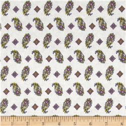 Chelsea Mini Foulards & Floral Cream