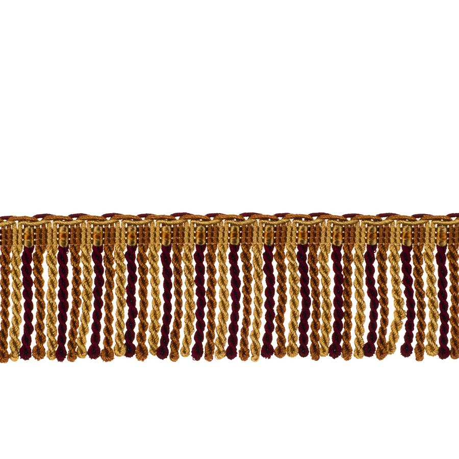 "Fabricut 2.5"" Porch Swing Bullion Fringe Autumn"