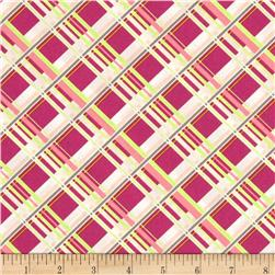 Art Gallery Coquette Plaid Passion Cherry