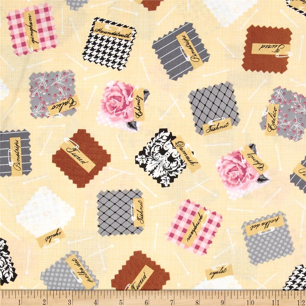 Sewing studio charm packs vintage discount designer for Cheap sewing fabric