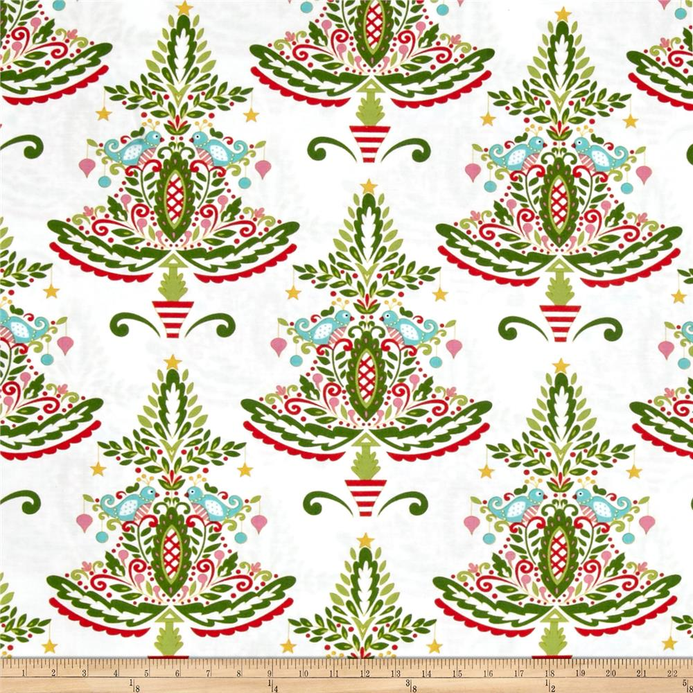 Merry Mistletoe Partridge White
