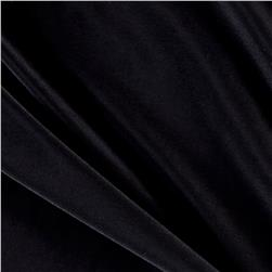 Venecia Stretch ITY Jersey Knit Solid Black