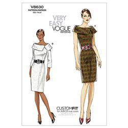 Vogue Misses' Dress Pattern V8630 Size AA0
