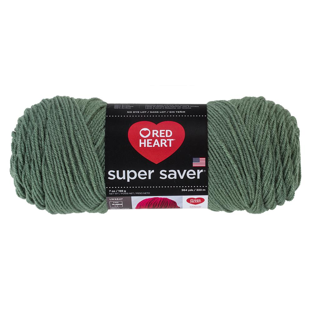 RED HEART SUPER SAVER YARN 631 LIGHT SAGE