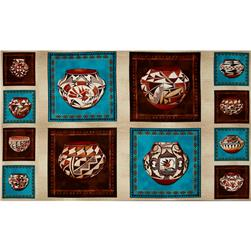 Trading Post Pottery Panel Multi