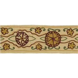 "Fabricut 2"" Tiegs Trim Rose"