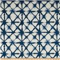 Premier Prints Shibori Net Flax Basketwaeve Italian Denim
