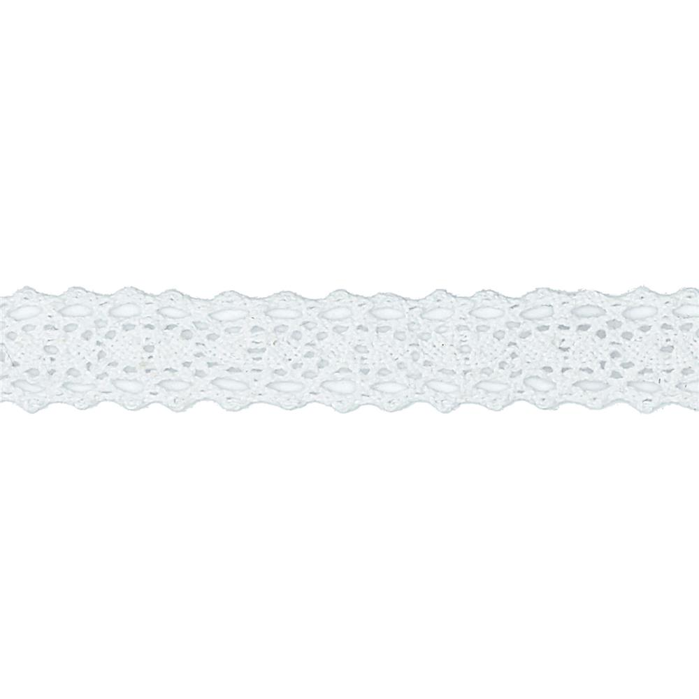 "Riley Blake Sew Together 1/2"" Crocheted Lace White"