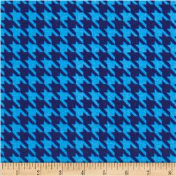The Farm at Whistle Pig Creek Flannel Houndstooth Blue