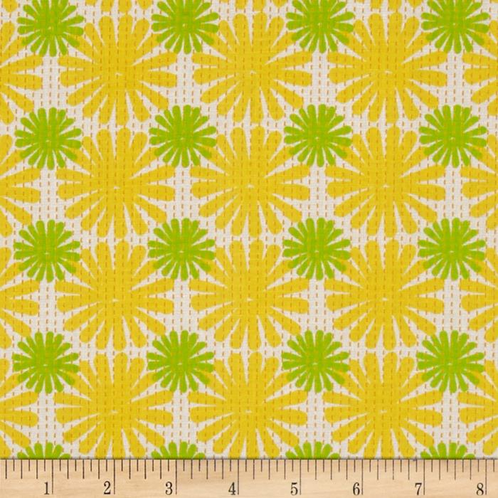 Moda Good Karma Burst Yellow - Green