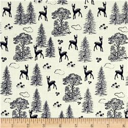 Riley Blake Woodland Spring Friends Navy