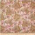LaScala 5 Metallics Tossed Floral Dawn